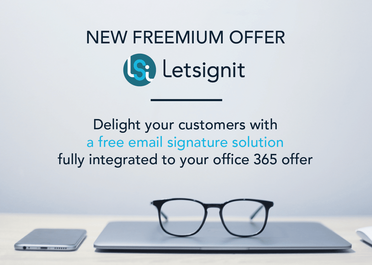 letsignit new offers