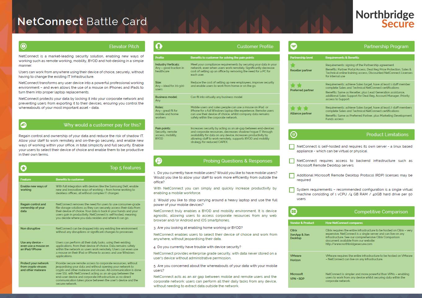netconnect battle card